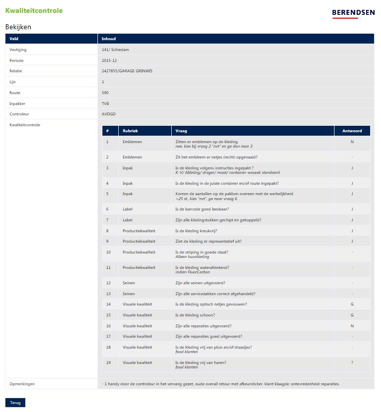2013-Berendsen-Kwaliteit controle